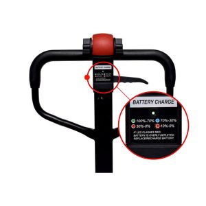 Semi Electric Hand Pallet Truck Battery Charge